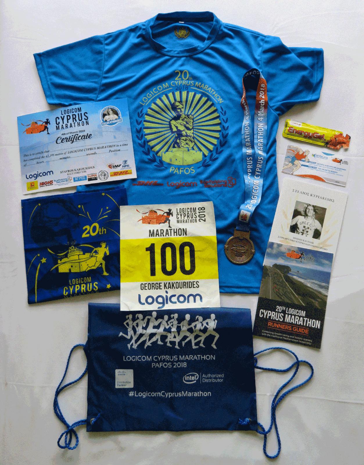 Logicom Cyprus Marathon 5